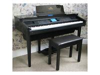 Yamaha Clavinova digital piano and stool