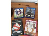 DVD &PS4 Games