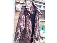 Real tree waterproof jacket by deerhunter
