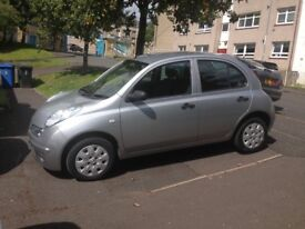nissan micra initia sold sold