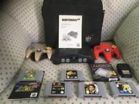 N64 console and games package