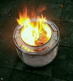 Washing Machine Drum / BBQ Fire Pit - Used on the festival circuit as fire pits etc (m)