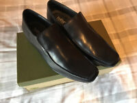 Brand new Hotter Size 8 Legacy Black leather slip on Shoes