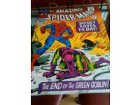 Comic book iconic cover Canvas frame
