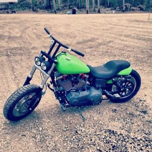 Harley Davidson 2013 Dyna fat bob needs to go