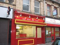 Kebab /Pizza/Southern Fried Chicken shop to let,town centre location,excellent trade apportunity