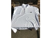 Mens Adidas Golf POLO Shirt, Size XL AS NEW, WHITE