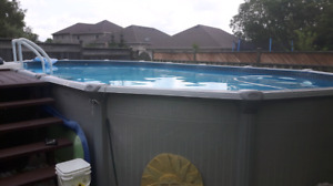 15 x30 above ground pool