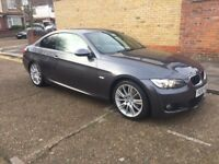 BMW 320i Manual petrol cream leather interior low mileage dagenham