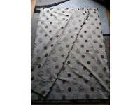 Dunelm curtauns 83cm by 50cm wide