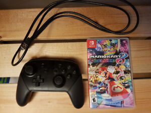 Mario Kart 8 Deluxe (Nintendo Switch), Switch Pro Controller