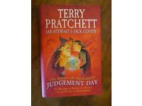 Terry Pratchett collectable books Judgement Day 1st edition Dodger 1st edition hat full of sky