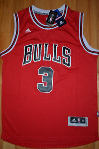 NEW w tags Dwyane WADE All Embroidered Jersey
