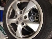 Porsche Boxster 17' Wheels