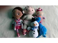 Doc mcstuffins plush bundle