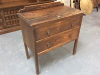 Small oak chest of drawers