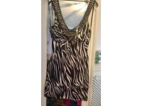Lovely Jane Norman top size 12 worn once
