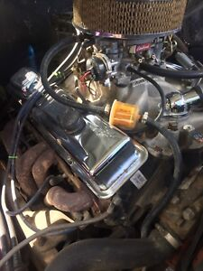 1971 Chevrolet C10 fresh engine / tranny build