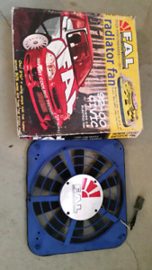 Flex-a-lite FAL slim radiator fan turbo
