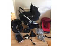 **QUINNY BUZZ**Travel System**Maxi Cosi Car Seat**Carrycot**Extras VGC