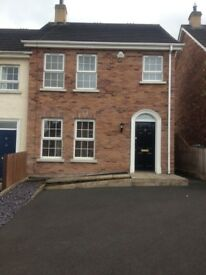 To Let / Rent 80, Whitethorn Lane, Kinallen, Co. Down / 3 Bed End Terrace