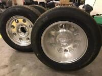American racing alloys 255x60x17 tyres