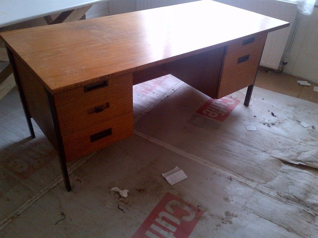 Very Large Old Wooden Desk Or Bench Can Deliver