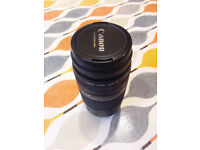 Canon EF mount 75-300mm zoom lens