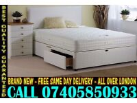 BRAND NEW Double Single King Size Dlvan Bed WITH MATTRESS. Carlisle