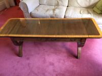 Georgian Style Mahogany Sofa Table with side drop leaves