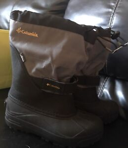 Brand new. Size 4 youth. Columbia winter boots