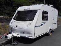 Sprite Alpine Two Berth Touring Caravan