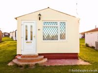 Holiday chalet to rent at Leysdown-on-sea 25th of August for a week - £350