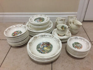 Menuet Dishes 22k Gold $300 OBO