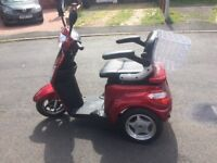 Road legal disabled scooter