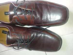 Brown Leather Bostonian Shoes size 10.5