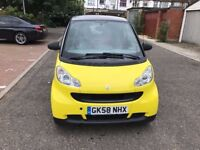 2008 Smart Fortwo 1.0 Pure 2dr 1 Owner From New @07445775115@