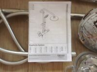 What an offer! Grohe Euphoria System shower - complete and ready to fit!