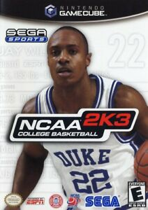 ISO NCAA College Basketball 2K3 for Nintendo Gamecube