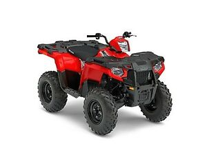 2017 Polaris Sportsman 570 EPS Indy Red