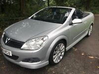 Fabulous Value 2009 Astra Twintop Cabriolet Exlusive Black Edition 66000 Miles Only! July 2018 MOT!