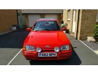 For sale my XR3i 71000 miles