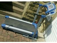 York Fitness ELECTRIC TREADMILL like NEW £115