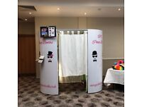 Photo Booth and Magic Mirror Hire. Add our led LOVE lights for only £100