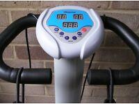 VIBRAPOWER Vibration Exercise machine with handlebars