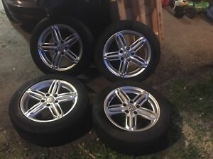 16 inch VW rims with 205/55/16 tires
