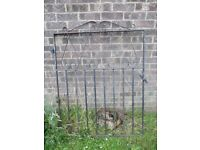 Beautiful Cast Iron Metal Garden Drive Gate - Others Available