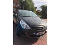 2014 Vauxhall Corsa S Low Mileage M.O.T Black 1.2 5dr