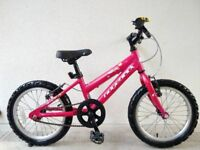 "FREE Bell with (2655) 16"" Aluminium RIDGEBACK Girls Cilds Bike Bicycle Age: 5-6 Height: 105-120 cm"