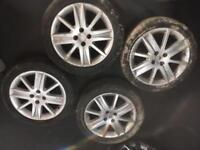"17"" RENAULT WHEELS"